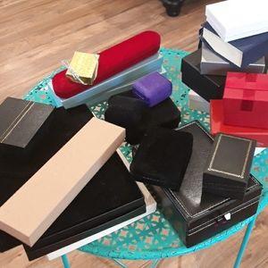 Jewelry - 20 jewelry cases boxes